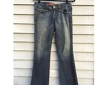 Vintage GUESS Flare Jeans, Vintage Guess, VTG Guess Jeans, VTG Guess, Guess Flare Jeans, Vintage Jeans, 90's Vintage Jeans, Christmas Gift