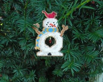Arnie the Snowman Ornament