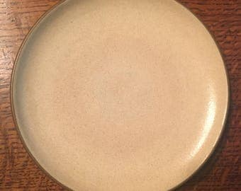 "Edith Heath Ceramics Pottery 8"" Salad Lunch Plate Coupe"