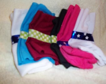 "18"" doll sized socks"