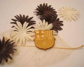 Ecuson Barca 1847 wooden creations