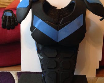 Nightwing costume cosplay armour