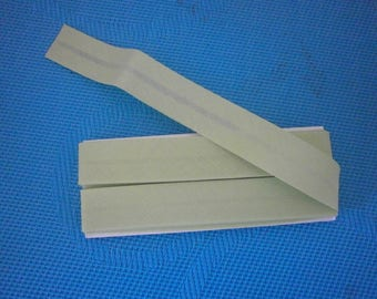 Plain green double fold bias light meter 20 mm