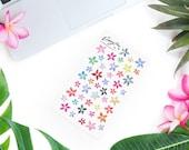 Flowering Meadow Stickerset-watercolor sticker-pretty planning-scrapbooking-bullet journaling