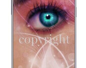 Le regard fond d'écran pour ipod ou ordinateur création unique sur le thème féerique.