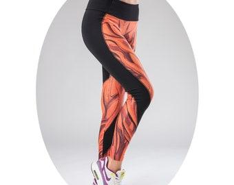 Womens leggings,Printed leggings, Workout leggings, Fitness leggings, yoga leggings, Sexy leggings, Color leggings, Festival leggings