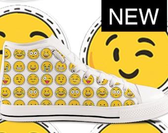 Emoji Custom High Top Shoes