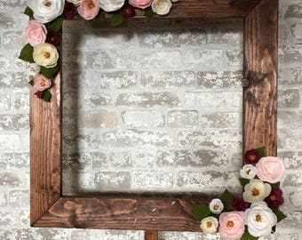 Cake table flower frame. Party decoration