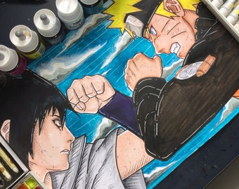 Naruto vs Sasuke the last battle