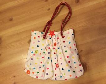 Small bag, leather handles
