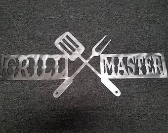 Grill Master Sign