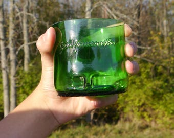 Whiskey Glass Handcrafted from a Jameson Irish Whiskey Bottle. Perfect Gift For Him. Husband Gift. Birthday Gift. Man Gift.