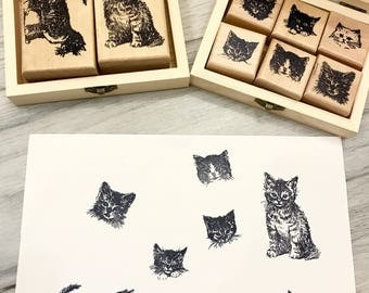 Rubber Stamps Set