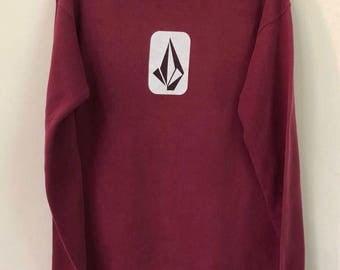 Vintage Volcom Sweatshirts Big Logo