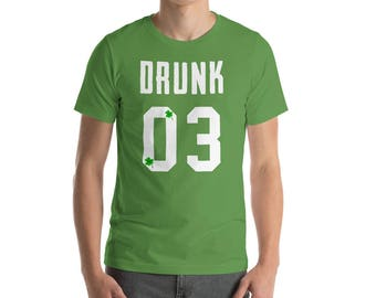 Drunk 03 - St. Patrick's Day - St Patricks Day tee - St Patricks outfit - Dog shirt - St Patricks clothes - Irish shirt