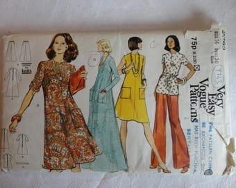 Vogue patterns 9763