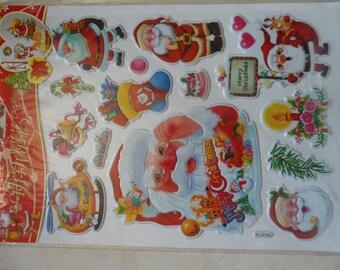 Christmas craft stickers