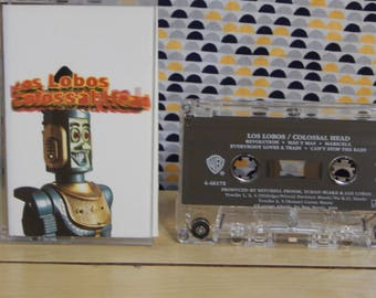 Los Lobos - Colossal Head - Cassette tape