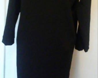 Black dress/ long caftan dress
