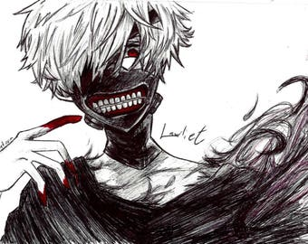 Tokyo Ghoul Art Poster