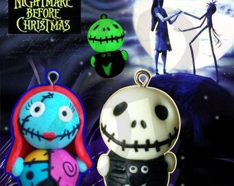 """Charm dedicated to film """"The Nightmare before Christmas"""""""