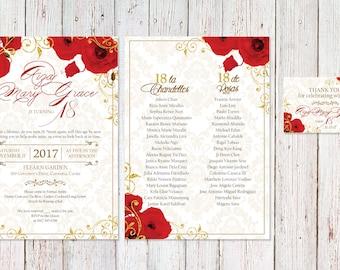debut invitation format