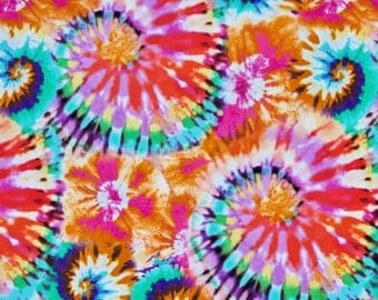 Tie Dye Fabric Etsy