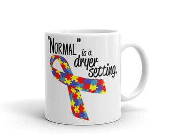 Normal is Not a Dryer Setting Mug
