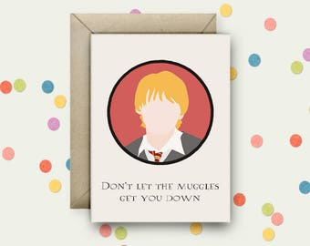 Magic Pop Art and Quote A6 Blank Greeting Card with Envelope