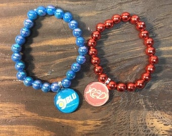 Team fortress 2 bead bracelet.TF2 bracelet .TF2 red team.TF2 blue team.TF2 party favors.tf2 jewelry.Tf2 gift