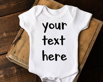 Custom baby onesie etsy negle Gallery