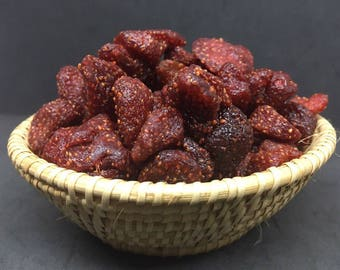 100% NATURAL STRAWBERRY,,Sun Dried Fruit ,Thai Ffuit Snack Organic