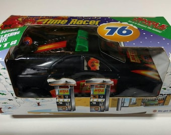 67 Jingle All The Way Gas Station promo Turbo Man charged noise car Time Racer