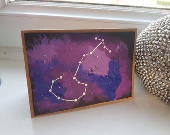Scorpio Starsign Card