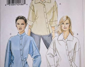 Sewing Pattern, V8515, Blouse Pattern, Out of Print, Sizes 18-24