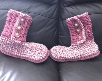 slipper booties