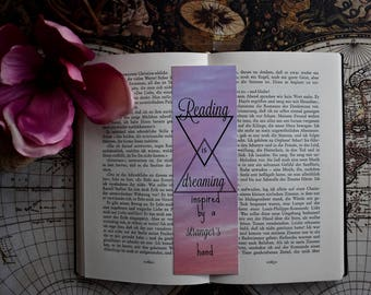 Bookmark Reading is dreaming