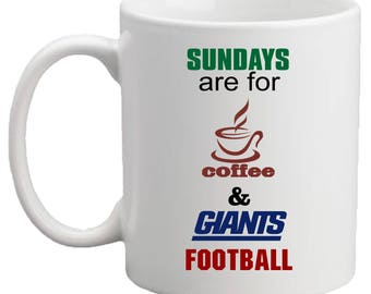 Sundays Are For Coffee And...Football