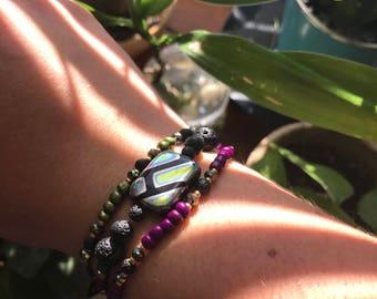 Essential Oil Diffuser Aromatherapy Bracelet Set