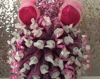 Valentine's  Day Tootsie Roll Candy Bouquet