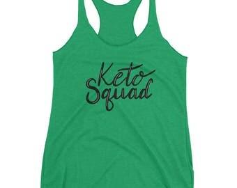 Keto Squad Women's Racerback Tank