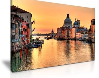 Italy Venice View Canvas Print 76 cm x 50 cm