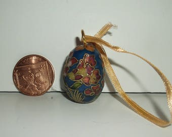 Chinese Cloisonne Decorated Egg