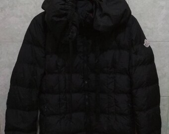 FREE SHIPPING moncler jacket with hooded made in romania winter jacket size 2/medium down jacket