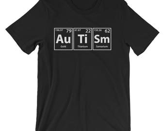 Autism (Au-Ti-Sm) Periodic Elements Spelling