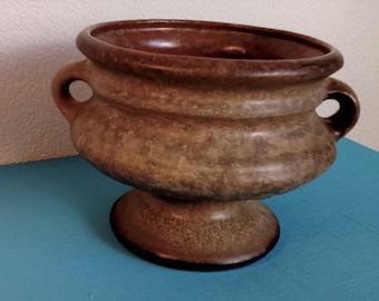 Dutch Earthenware Flowerpot Plant Vase 1960