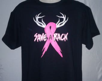 Save A Rack graphic T-Shirt