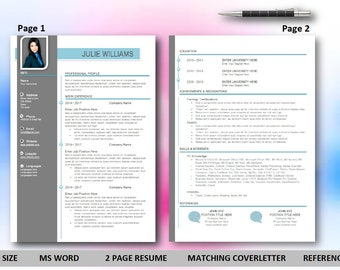 resume template cv template word for mac or pc professional cover letter - Resume Template On Word