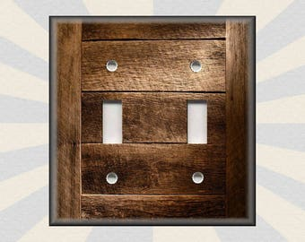 Wood Switch Plate Covers New Wood Switchplate  Etsy Inspiration Design