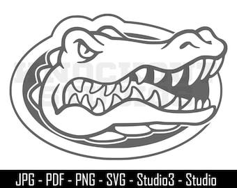 Gators SVG, Florida Cut File, Gators, Football - Cut Files - SVG, Windows Decal - Silhouette, Cricut and More - CS094